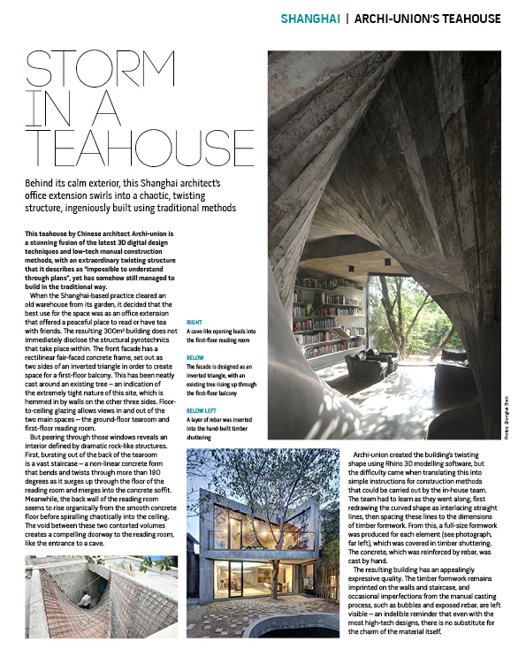 Archi-Union Teahouse